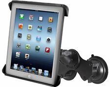 RAM Double Twist Lock Suction Cup Mount with Tab-Tite Cradle fits Apple iPad