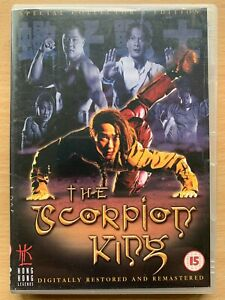 The Scorpion King DVD 1991 HKL Hong Kong Legends Martial Arts Film Movie Classic