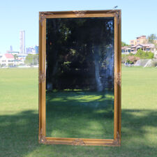 Wooden Mirror Large Gold Bevelled wall mirror & Frame Antique 130CM  X 80CM