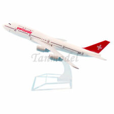 16cm alloy plane model Switzerland Swiss Air B747-200 HB-IGD