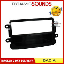 CT24DC03 Single Din Fascia Piano Black For Dacia Dokker, Duster, Lodgy, Sandero