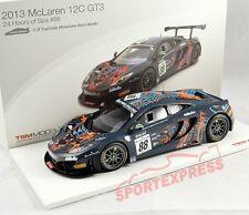 NEW 1/18 TSM 141823r McLaren 4-12c gt3, 24hrs SPA 2013, #88
