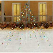 Home Accents Holiday Christmas Tree Drape Lights 7' Multicolor C9 100 LED Light