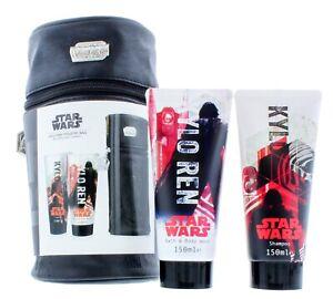 Star Wars Kylo Ren Toiletry Bag Bath & Body Wash & Shampoo Gift Set