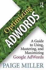 Optimizing Adwords (Miller) (UK IMPORT) BOOK NEW