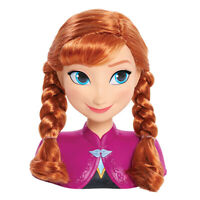 Frozen Anna Styling Head, Fast Delivery