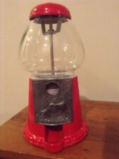 Vintage Carousel Gum Ball Machine Metal w/ Glass Globe Junior ~ Nice!