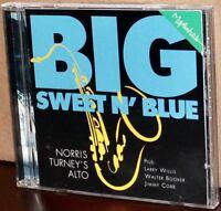 MAPLESHADE 24kt GOLD CD MS-02632: Norris Turney - Big Sweet N' Blue - 1995 USA