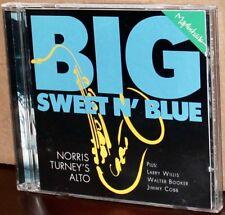 MAPLESHADE 24kt GOLD CD MS02632: Norris Turney - Big Sweet N' Blue - 1995, USA