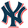 New York Yankees NY Logo Vinyl Sticker Decal Cornhole Car Truck Bumper Wall