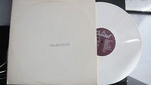 BEATLES, WHITE ALBUM - WHITE VINYL DOUBLE LP SEBX-11841