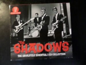 CD TRIPLE ALBUM - THE SHADOWS - THE ABSOLUTELY ESSENTIAL