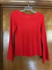 CALYPSO St. Barth Women's Red Paltina Sweater Size Small NWT MSRP $375.00