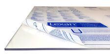 Polycarbonat Makrolon Lexan 2050 x 1250 mm 0,75-3,0 mm bruchfester als Acrylglas