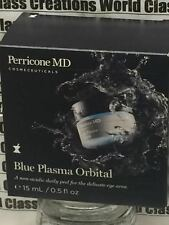 PERRICONE MD BLUE PLASMA ORBITAL - FOR THE DELICATE EYE AREA - 0.5 OZ/15 ML