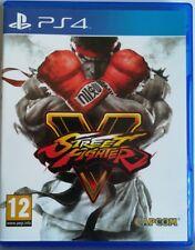 Street Fighter V. Ps4. Fisico. Pal España