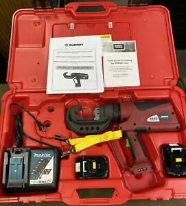 Burndy Patriot PAT 444S Series - Battery Actuated Hydraulic Crimper...FREE S&H!!