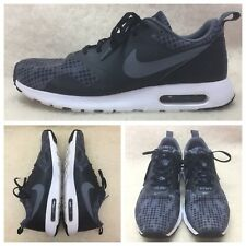 buy popular e0d16 c3223 Nike Air Max Tavas Print, Black DarkGrey White, Men s Size US 11