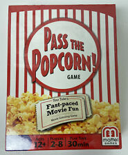 New! Pass the Popcorn Fast-paced Movie Guessing Game with RETRO BOOSTER PACK
