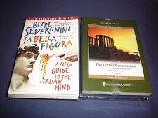 Teaching Co Great Courses  DVDs        THE  ITALIAN  RENAISSANCE     new + BONUS