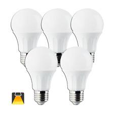 Aigostar - Bombilla LED E27, 12W equivalente a 100W, luz calida ,984lm pack 5