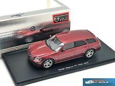 Dodge Magnum RT HEMI 2005 dark red  Spark S0851 resin 1:43