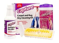 Capture Carpet Dry Cleaning Kit 100 - Deodorize Stains and Odor from Rug