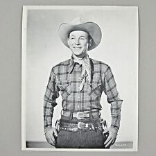 Roy Rogers 1943 KING OF THE COWBOYS 8x10 B&W Photo Card Republic Pictures