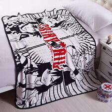 "55"" Japan Anime FAIRY TAIL/MAKO Soft Warm Coral Fleece Plush Throw Blanket AS"