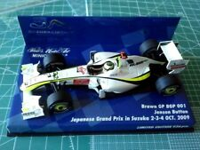 Jenson BUTTON - MINICHAMPS 403090822 - BRAWN - BGP 001 - SUZUKA JAPAN - 2009