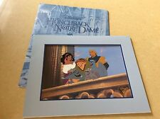 "Walt Disney - "" Hunchback Of Notre Dame "" - Exclusive Commemorative Lithograph"