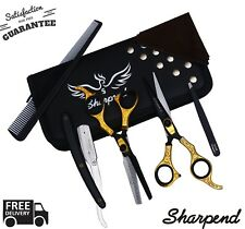 PROFESSIONAL SALON HAIRDRESSING HAIR CUTTING THINNING BARBER SCISSORS SET 6.5''