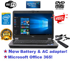 DELL LATITUDE E6440 LAPTOP WINDOWS 10 WIN DVD+RW INTEL i7 2.9GHz 8GB 500GB HDMI