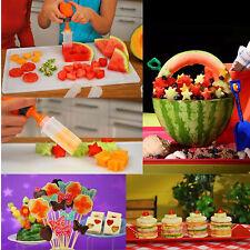 POP CHEF Fruit Cutter Food DECORATOR CAKE SHAPE CREATOR PopChef AS SEEN ON TV