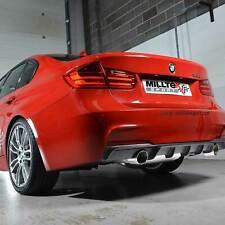 "SSXBM962 For BMW F30 328i M Sport Auto Milltek Cat Back Non-Resonated 3"""