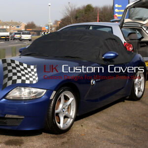 BMW Z4 2003 - 2008 SOFT TOP ROOF PROTECTOR - BLACK - 094