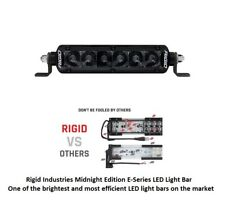 "Rigid Industries 6"" SR-Series PRO Midnight Edition Spot Optics LED Light Bar"