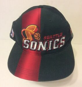 Seattle SuperSonics VTG 90s Sports Specialities Color Rush Block Snapback Hat
