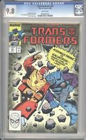 Marvel Comics TRANSFORMERS #43 CGC 9.8 NM (1988) White Pages