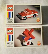 LEGO 60th Anniversary Windmill 4000029 & Truck 4000030 Limited Edition Sets