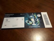 Uefa Champions League 2012 Final Ticket