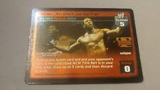 WWE Raw Deal SS2 BOOKER T BOOKERMAN TELL ME YOU DIDNT JUST SAY THAT ULTRA RARE