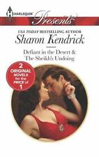 Defiant In The Desert/The Sheikh's Undoing By Sharon Kendrick