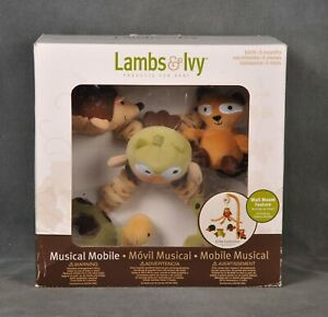 Lambs & Ivy Musical Mobile Echo Collection Plays Brahms' Lullaby