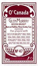 2003-04 Topps C55 Minis O Canada Red #47 Glen Murray