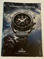 OMEGA International Collection March 2011- Watch Catalogue RARE IN DEALERS ONLY