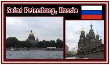 SAINT PETERSBURG, RUSSIA - SOUVENIR NOVELTY FRIDGE MAGNET -  NEW - GIFT
