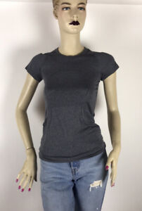 Lululemon Run Swiftly Tech Womens Short Sleeve Shirt Size 4