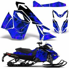 Decal Graphic Wrap Kit Ski Doo Sled Snowmobile REV XS Renegade MXZ 13+ ICE BLUE