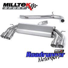 Milltek SSXVW409 Golf MK7 R Cat Back RACE Exhaust Non Res Non Valve Titanium GT